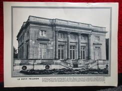 "Le Petit Trianon  '""Photo-Gravure"" Histoire - Old Paper"