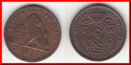 **** BELGIQUE - BELGIUM - BELGIE - 2 CENTIMES 1836 LEOPOLD I ROI DES BELGES **** EN ACHAT IMMEDIAT - 1831-1865: Léopold I