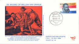 Nederland – FDC Trompet 169 – 400ste Sterfdag Willem Van Oranje – NVPH 1312/T169 - FDC