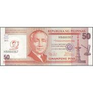 TWN - PHILIPPINES 217 - 50 Piso 2013 - Canonization Of San Pedro Calungsad - Prefix HN UNC - Filippine