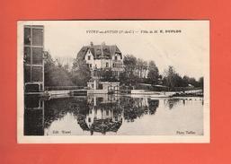 * CPA..dépt 62..VITRY En ARTOIS :  Villa De M. E. DUFLOS   : Voir 2 Scans - Vitry En Artois