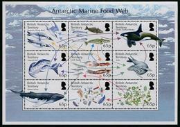 British Antarctic Territory 2014 - Faune Antarctique - Feuillet 9v Neufs // Mnh - British Antarctic Territory  (BAT)