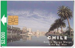 CHILE - Estero Marga Marga/Vina Del Mar, 11/97, Used - Landschappen