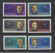 ALBANIE . YT 635/640 Neuf ** Conquête De L'espace. Cosmonautes Soviétiques 1963 - Albania