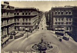 Napoli - Piazza Borsa E Corso Umberto - 9 - Formato Grande Viaggiata – E1 - Napoli (Naples)