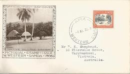 6Mm-900: N°123: APIA WESTERN SAMOA : Off. First Day Cover > Warrnambool Australia 1935 - Samoa