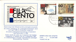 Nederland – FDC Trompet 168 – Internationale Postzegeltentoonstelling Filacento – NVPH 1309-1311/T168 - FDC