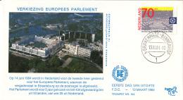 Nederland – FDC Trompet 164 – Verkiezing Europees Parlement – NVPH 1300/T164 - FDC