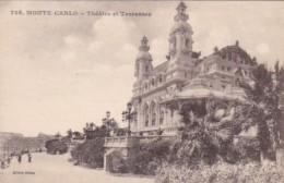 Monaco Monte Carlo Theatre Et Terrasses - Terraces