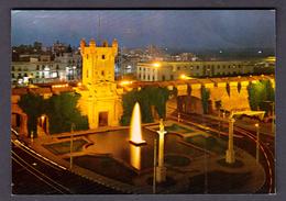 SPAIN POSTCARD CADIZ GATES OF THE SAND - Cádiz