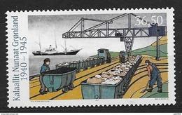 Groënland 2017, Timbre Neuf Vie Pendant La 2ème Guerre Mondiale - Unused Stamps