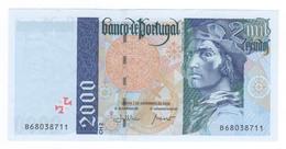 Portogallo 2000 Escudos 1998 UNC. - Portugal