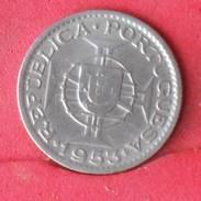 MOZAMBIQUE 2,5 ESCUDOS 1953 -    KM# 78 - (Nº10122) - Mozambique