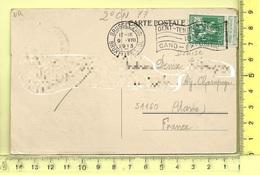 CARTE NOMINATIVE: DENISE ( Institutrice ) à 51160 Ay-Champagne - Postcards