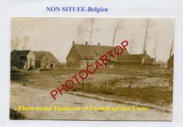 NON SITUEE-PHOTO Allemande-Guerre 14-18-1 WK-BELGIEN-Flandern- - Belgium