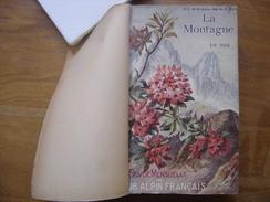 1906 LA MONTAGNE Sommaire En Photo ESCALADE ASCENSIONS COURSES RANDONNEE CLUB ALPIN FRANCAIS - Livres, BD, Revues