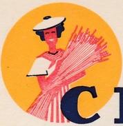 Carte Commerciale MEUNIER Frères / Pâtes / Cérès / 26 Andancette  Drôme ( Cachet ) / 06 Nice / Paris - Other