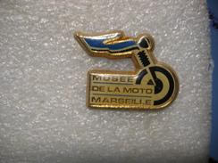 Pin's Du Musée De La MOTO à Marseille - Moto