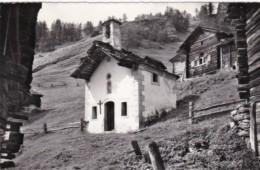 Switzerland Val D'Herens La Chapelle De Gietti 1965 Photo - VS Valais