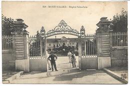 MONTPELLIER - Hôpital Suburbaib - Montpellier