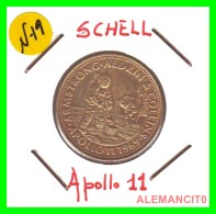 JETON  SCHELL  APOLLO  11 - Monedas & Billetes
