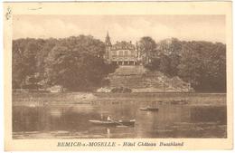 Remich-sur-Moselle - Hôtel Château Buschland - 1929 - Remich