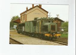 LA FERTE IMBAULT (41) 102 LIGNE DU BLANC A ARGENT. TRAIN DESHERBEUR EN GARE LOCOTRACTEUR BA 12 (1988) - Francia