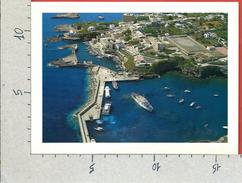 CARTOLINA NV ITALIA - VENTOTENE (LT) - Porto Nuovo E Porto Romano - Veduta Aerea - 12 X 17 - Latina