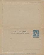 FRANKREICH - 1888/94 , Carte-Lettre - Ganzsachen