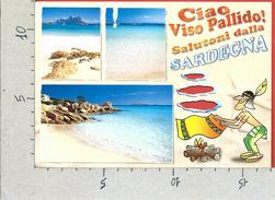 CARTOLINA VG ITALIA - UMORISTICA - Ciao Viso Pallido - Salutoni Dalla Sardegna - 12 X 17 - ANN. 2012 - Humor
