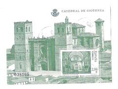 Used Sheet CATEDRAL DE SIGUENZA Spain Espagne Espana 2011 - 1931-Heute: 2. Rep. - ... Juan Carlos I