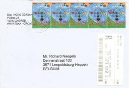 Croatia 2009 Zagreb Dialogue Between Civilisations Barcoded Registered Cover - Croatia