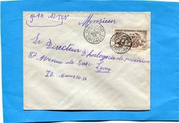 MARCOPHILIE-lettre-Cote D'ivoire>Françe- Cad-DIMBOKRO -1953-  Stamp A O F N° 40 Autorail - Côte-d'Ivoire (1892-1944)