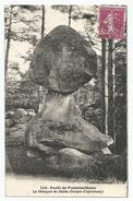 C.P.A. (77) Forêt  De Fontainebleau - LE Bibloquet Du Diable (Gorges D'Apremont) Voir Les 2 Photos - Fontainebleau
