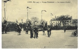 Lyon, Mai 1907 - Voyage Présidentiel - Les Mesures D'ordre - Lyon