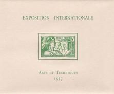 OCEANIE - Bloc N°1 Exposition Internationale Arts & Techniques 1937 ** Neuf Sans Charnière MNH (voir Scan) Cote 52EUR - Blocks & Sheetlets