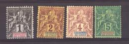 Inde :  Yv  1-4  * - India (1892-1954)