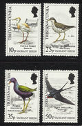 TRISTAN DA CUNHA  1989  BIRDS  SET   MNH - Oiseaux