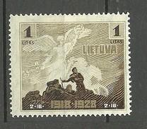 LITAUEN Lithuania 1928 Michel 287 * - Litauen