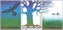 1974 Natuur En Milieu - Strook 1043 -1045a Postfris/MNH - 1949-1980 (Juliana)