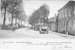 AARDENBURG 1903 Zeeland Sluis Kaaipoort Spoorlijn Stoomtram Breskens Maldeghem Logement Rooden Leeuw ( Brauwer / Nuss ) - Sluis