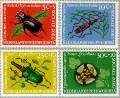 Nederlands Nieuw Guinea 1961 Social Care, Insects, MNH**/Postfrisch - Nuova Guinea Olandese