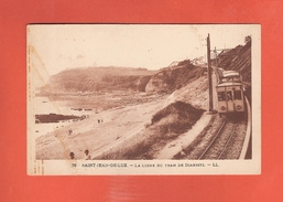 * CPA..dépt 64..SAINT JEAN De LUZ :  La Ligne Du Tram De Biarritz : Voir 2 Scans - Saint Jean De Luz