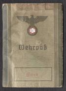 WEHRPASS Allemand 1937 - Documenti