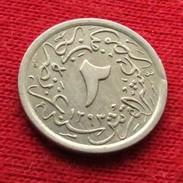 Egypt 2/10 Qirsh 1293/12 1886 KM# 290  Egipto Egypte Egito Egitto Ägypten L3-2 - Egipto