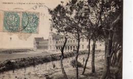 Le Croisic.. Pen-Bron L'Hôpital Vu Du Bois De Sapins Santé Médical - Le Croisic