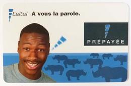 CONGO - Celtel - Prepaid - Recharge - A Vous La Parole - 03.02 - Used - Congo