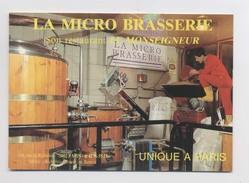 Publicité BRASSERIE Rue De Richelieu Paris - Bière Parisienne - Restaurant Le Monseigneur - Animée - Publicité