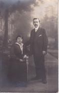 CPA Photo Un Couple - Vincennes - Ca. 1910 (27778) - Paare