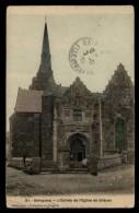 22 - Guingamp 51 L'entrée De L'église De Gaces #03168 - Guingamp